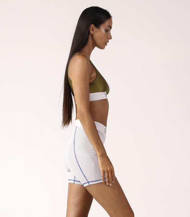 Zolia Bike Shorts Grey - BOTTOMS THIS IS A LOVE SONG