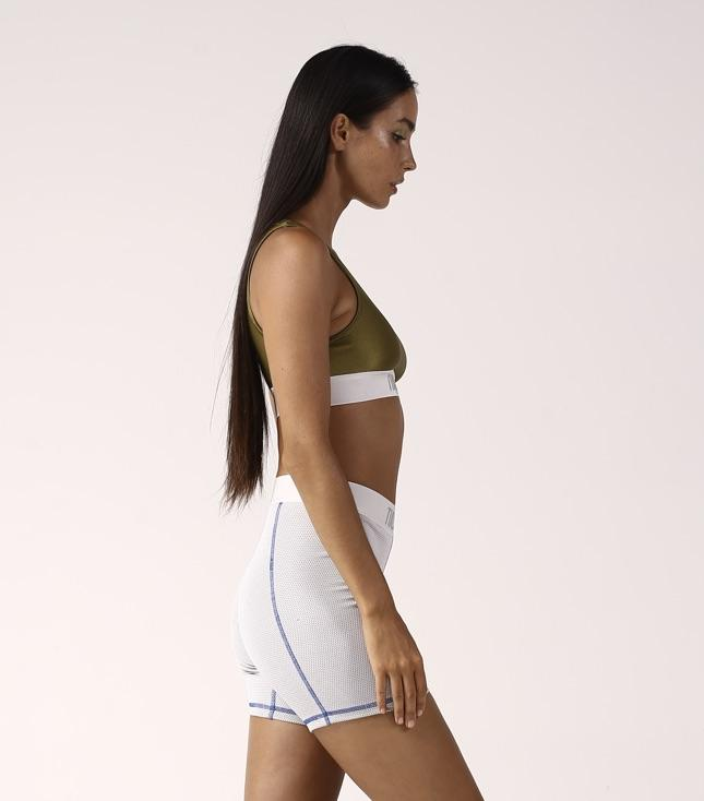 Zolia Bike Shorts Grey - THIS IS A LOVE SONG