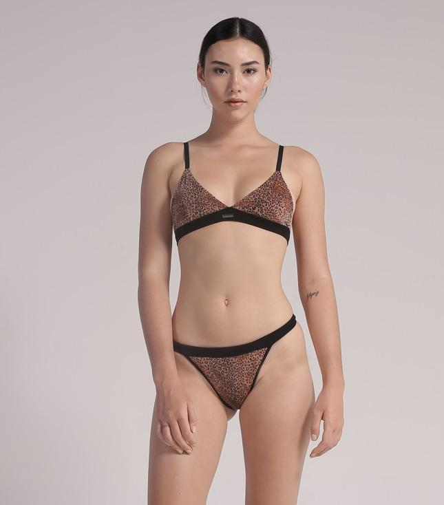 Kaia Bra (Metallic Leopard) - INTIMATES THIS IS A LOVE SONG