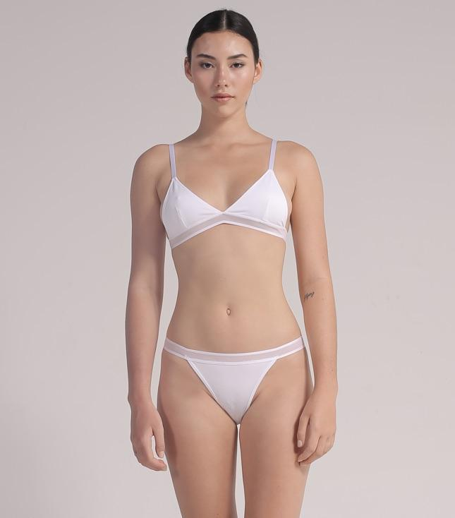 Kaia Bra (White) - INTIMATES THIS IS A LOVE SONG
