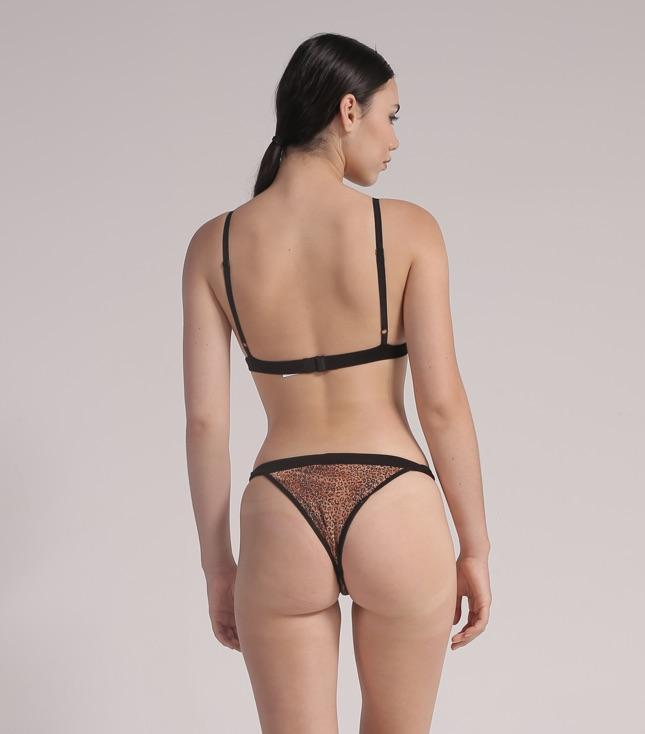 Kaia Tanga Panty (Metallic Leopard) - INTIMATES THIS IS A LOVE SONG