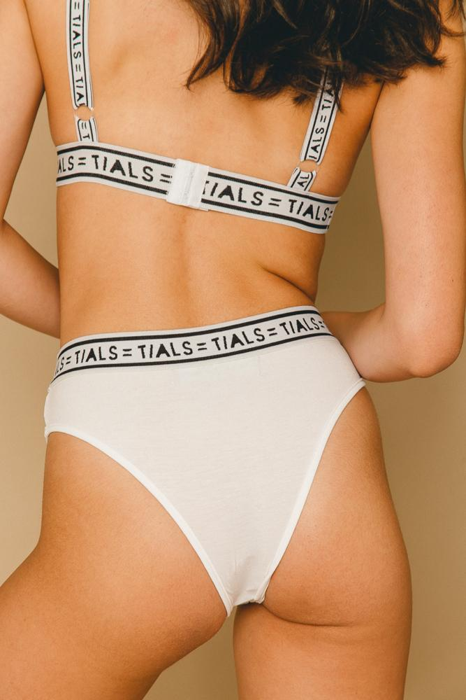 Logo Classic Hi-Cut Panty White - THIS IS A LOVE SONG