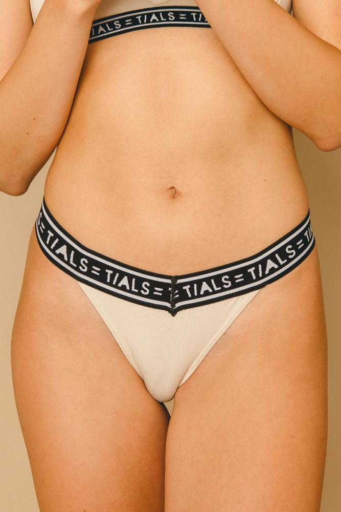 Logo Classic Thong Milk - INTIMATES THIS IS A LOVE SONG
