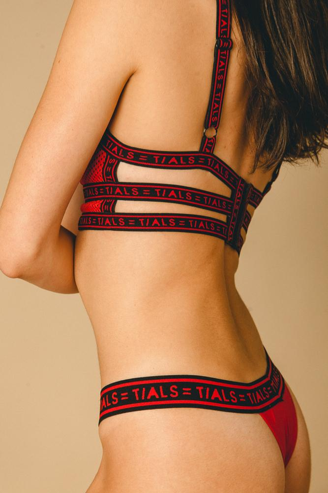 Logo Classic Thong Red - THIS IS A LOVE SONG