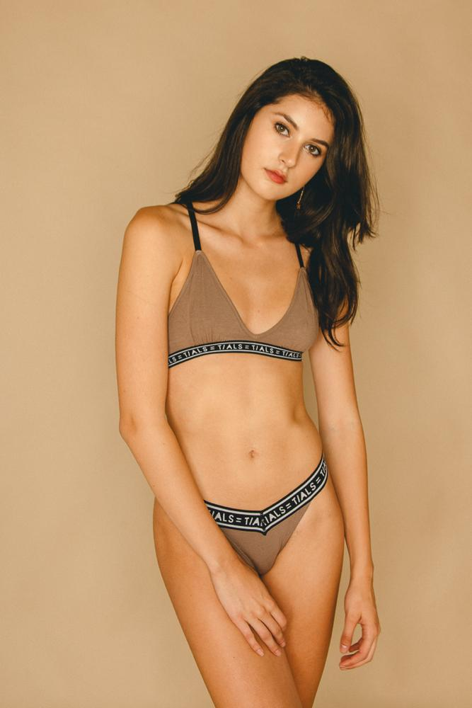 Logo Classic Thong Toffee - INTIMATES THIS IS A LOVE SONG