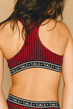 Logo Racerback Plaid - INTIMATES THIS IS A LOVE SONG