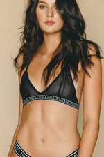 Logo Simple Bra Black - INTIMATES THIS IS A LOVE SONG