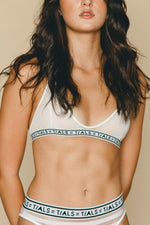 Logo Simple Bra White - INTIMATES THIS IS A LOVE SONG