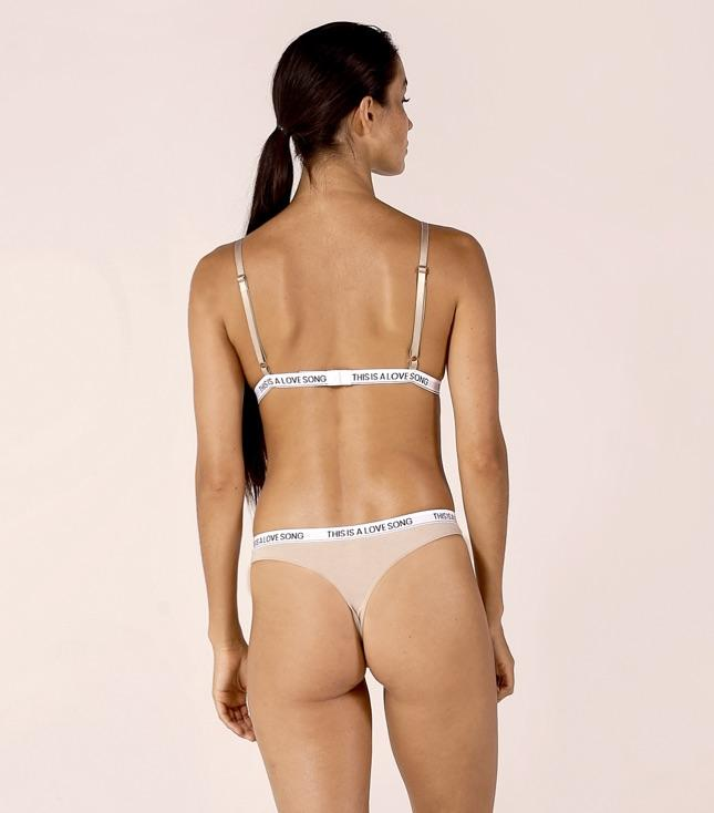 Piper Thong Taupe - INTIMATES THIS IS A LOVE SONG