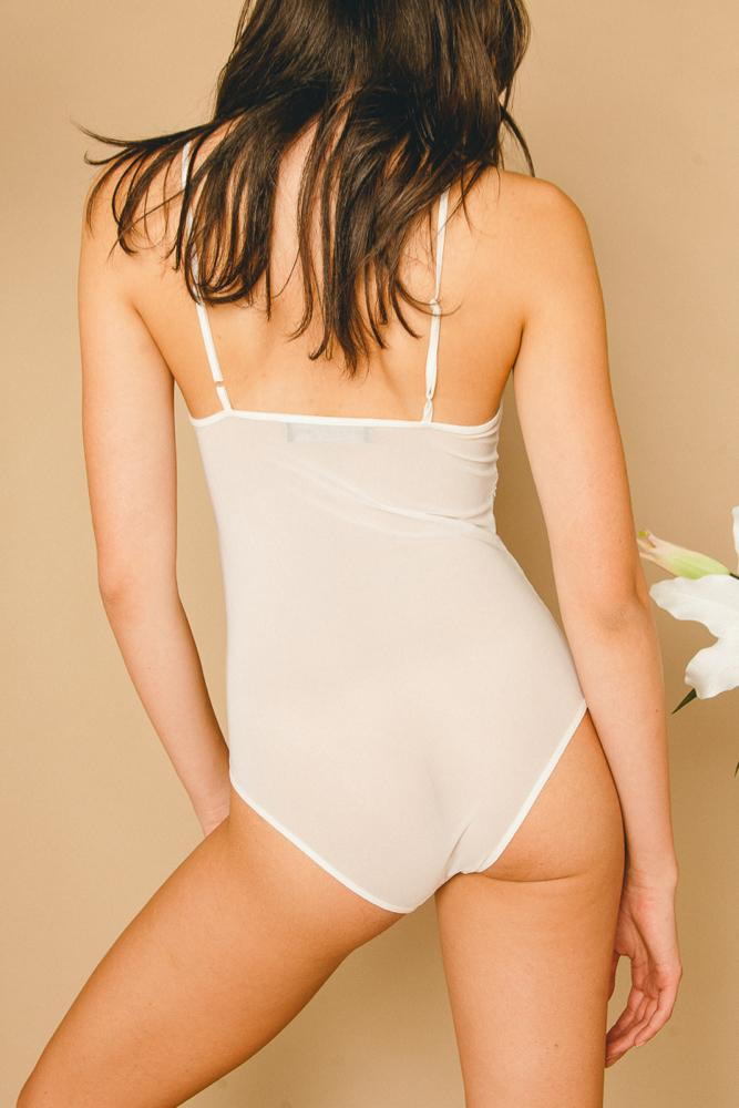 Rosalie Bodysuit White - THIS IS A LOVE SONG