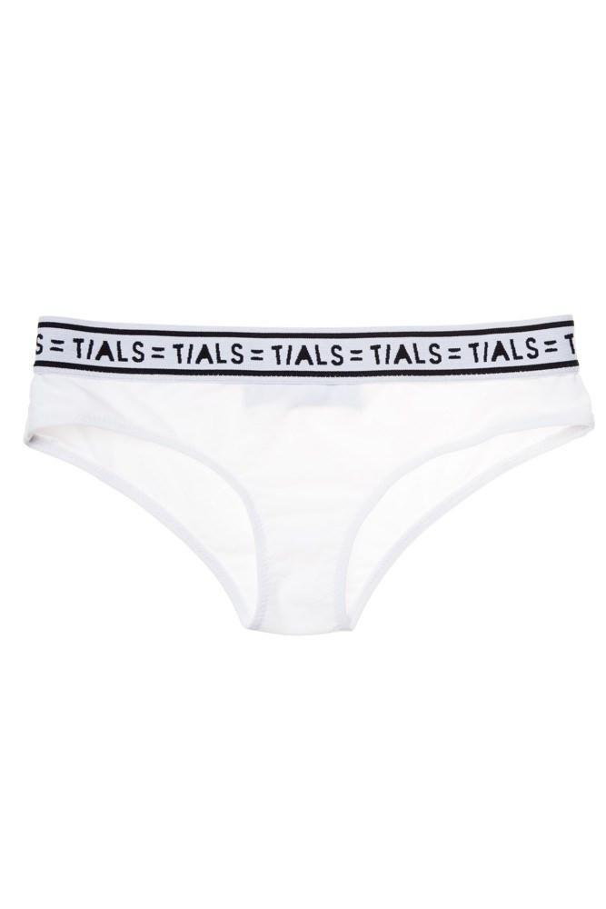 Logo Classic Hipster Panty White - INTIMATES THIS IS A LOVE SONG