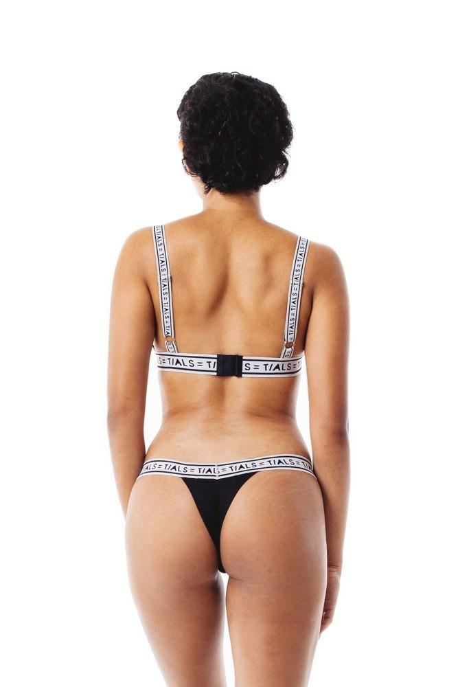 Logo Classic Thong Black/Grey - INTIMATES THIS IS A LOVE SONG