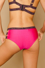 Logo Bikini Classic Hot Pink - Top - SWIM THIS IS A LOVE SONG