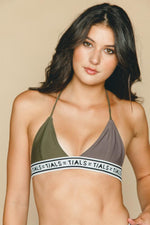 Reversible Triangle Logo Bikini - Top - SWIM THIS IS A LOVE SONG