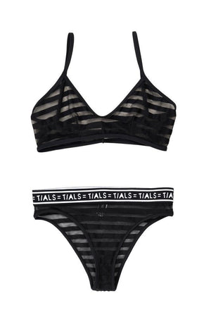 The Andrea Set (Black) - INTIMATES THISISALOVESONG