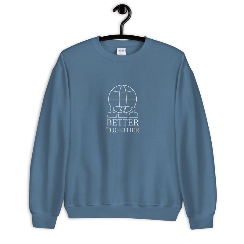 Better Together Sweatshirt (Blue) - TOPS THIS IS A LOVE SONG