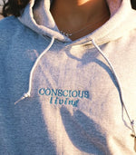 Conscious Living Hoodie - TOPS THIS IS A LOVE SONG