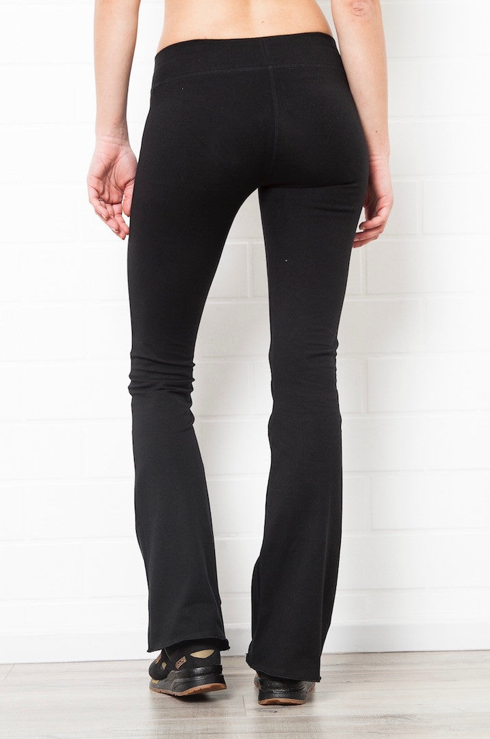 Flared Leggings - Plain Colours - FUNKY SIMPLICITY