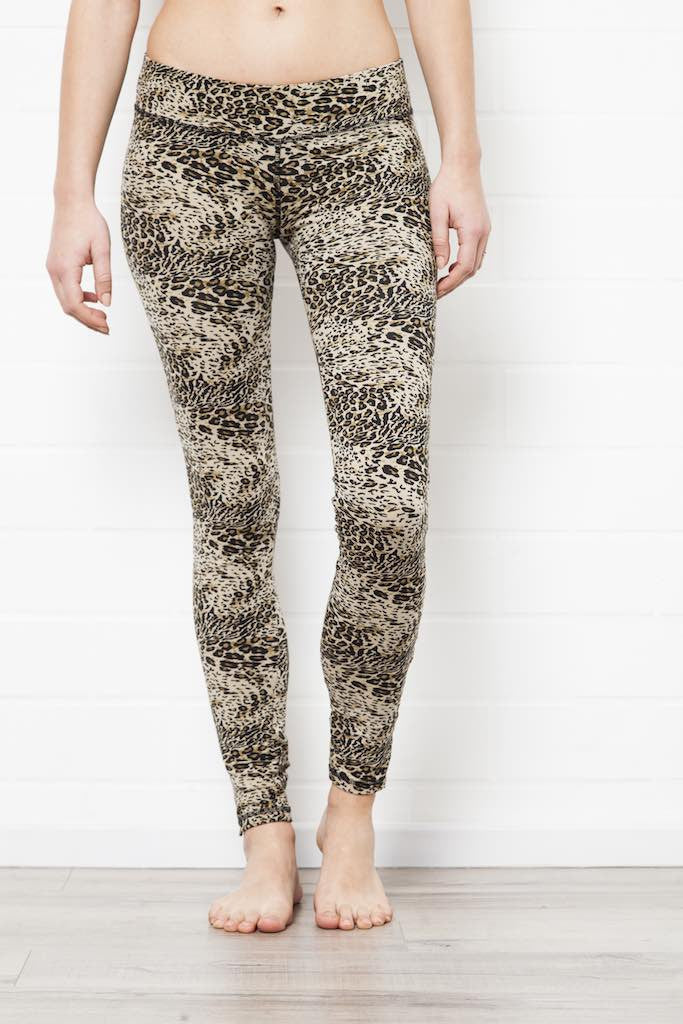 Leggings Leopard Cream - FUNKY SIMPLICITY