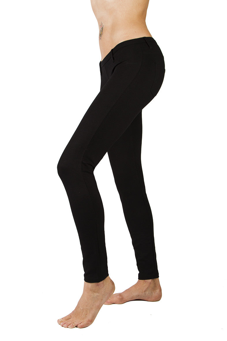 Lycra Jeans Tights Black - FUNKY SIMPLICITY