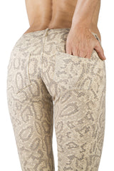 Dragon Cream Jeans Tights - FUNKY SIMPLICITY