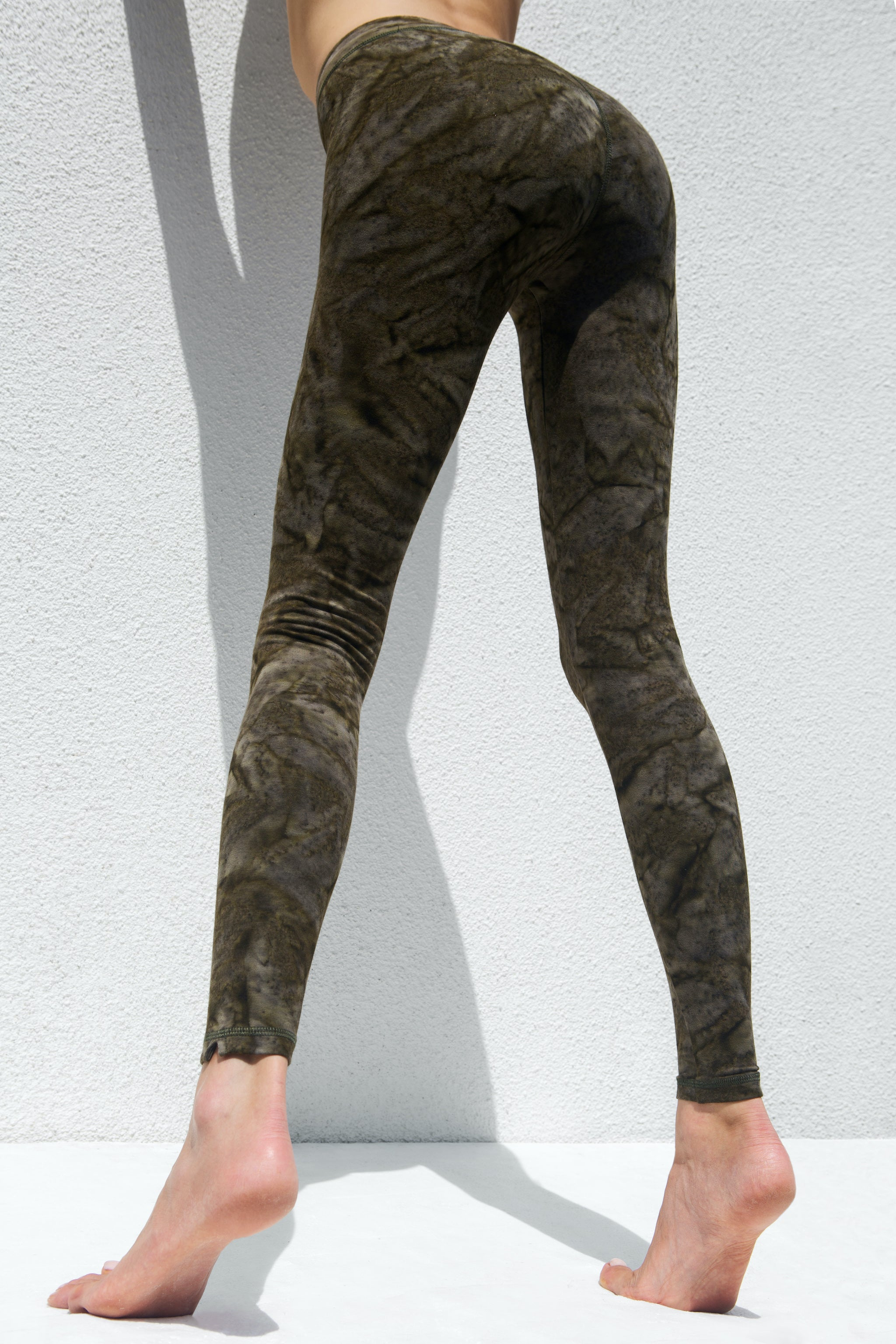 Leggings Smokey Army Green