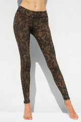 Leggings Brown Dragon