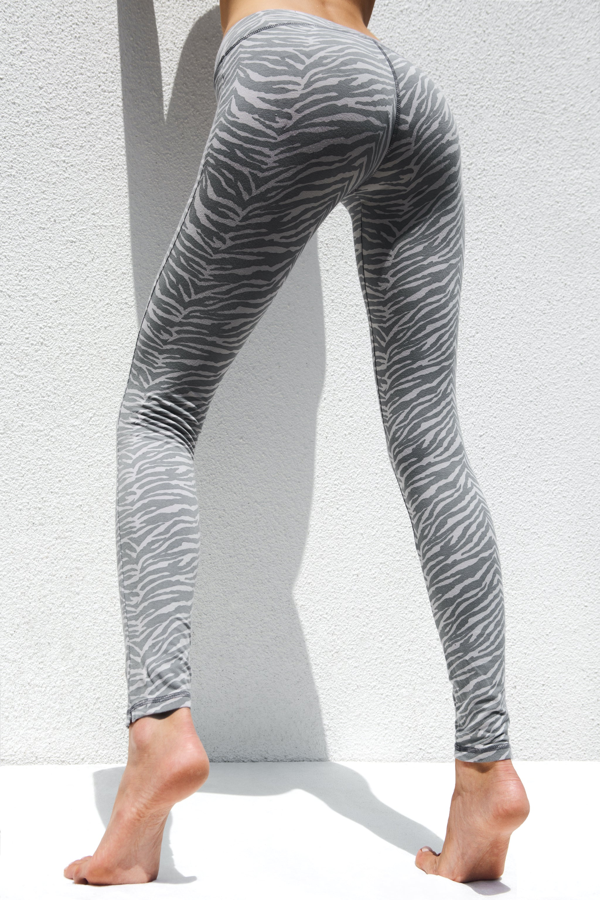 Leggings Zebra Grey