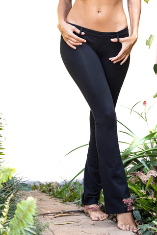 Lycra Jeans Tights Black