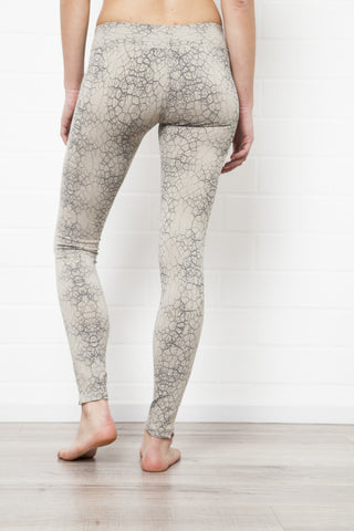 Leggings Leopard Cream