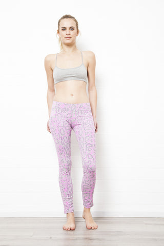 Dragon Pink Leggings Tight - FUNKY SIMPLICITY