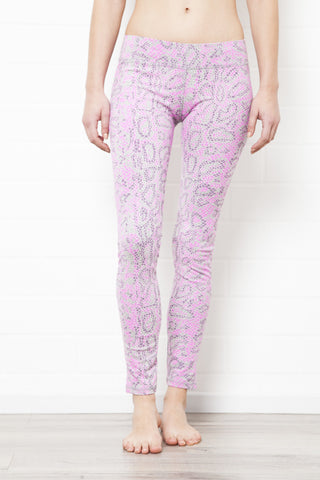 Capri Tights - Dragon Pink