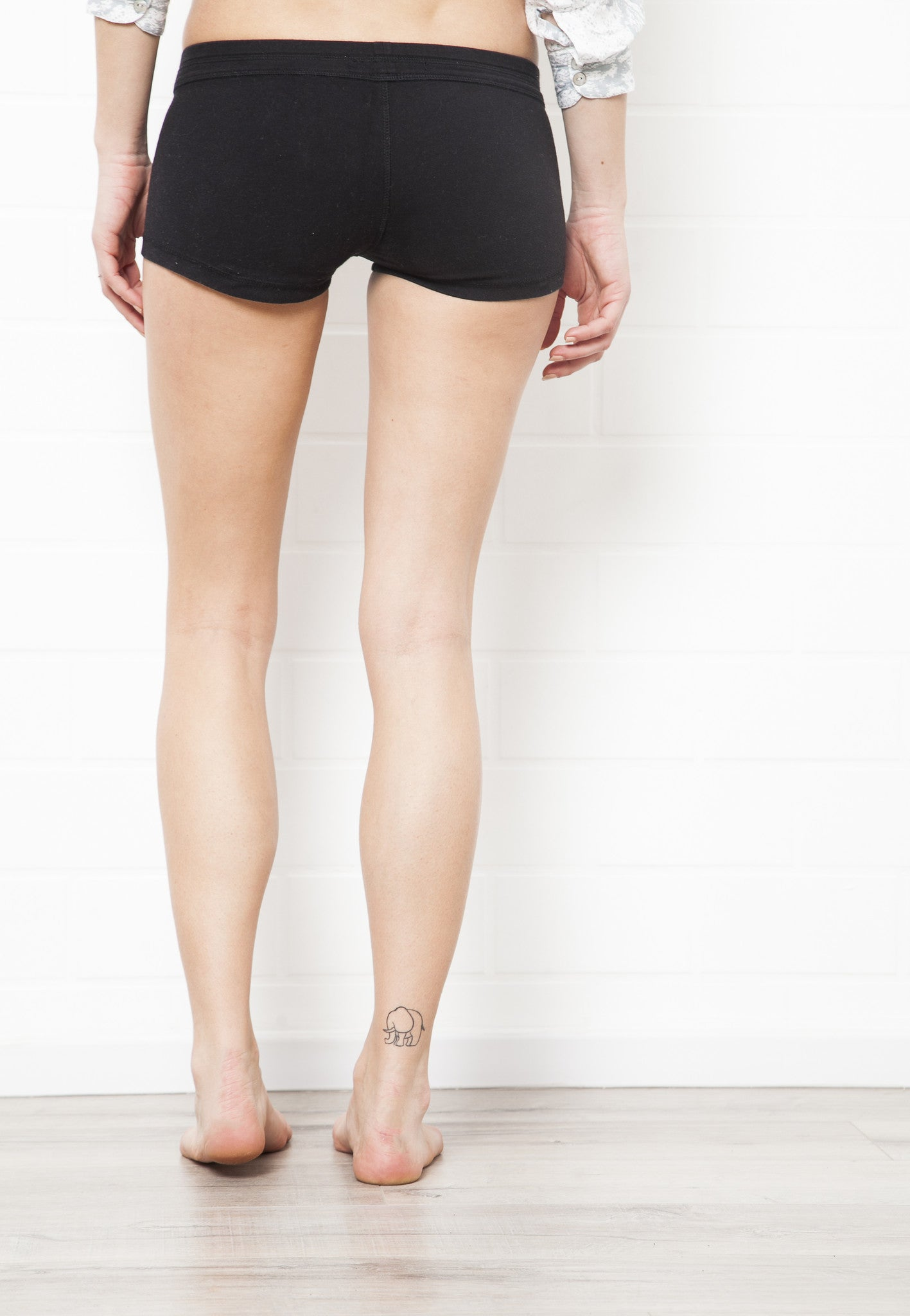 Low Waist Hotpants - Plain Colours - Beach Shorts - FUNKY SIMPLICITY