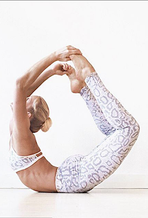 White Dragon Leggings  - Yoga Tights - FUNKY SIMPLICITY