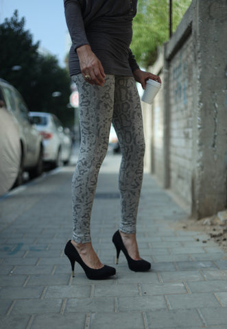 Leggings Dragon Grey - FUNKY SIMPLICITY