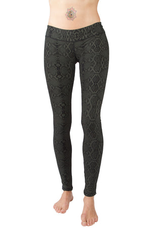 Super High Waist Leggings Tights - Leopard Print