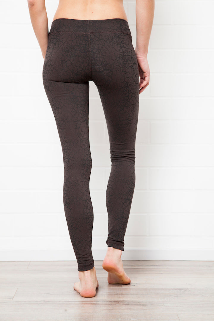 Leggings Cactus Charcoal Black - FUNKY SIMPLICITY