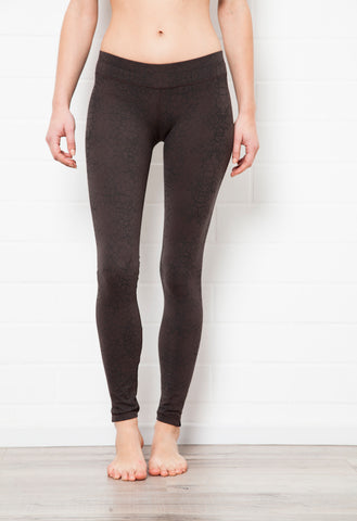 Cactus Charcoal Leggings Tight - FUNKY SIMPLICITY