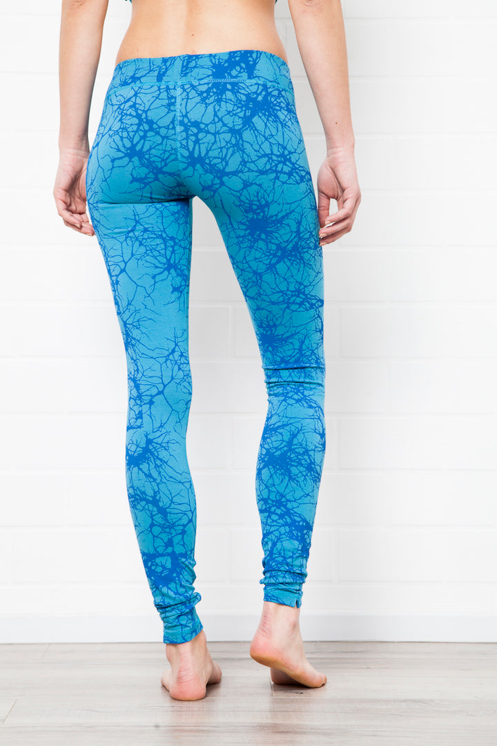 Leggings Lightning Turquoise - FUNKY SIMPLICITY