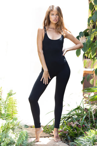 Catsuit with built in Bra - cross back - FUNKY SIMPLICITY