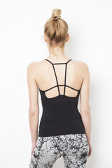String Back Black Top - FUNKY SIMPLICITY
