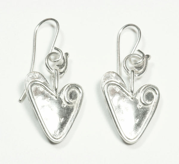 Murray's Commemorative Heart Earrings