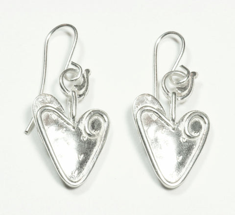 Signature Heart Earrings