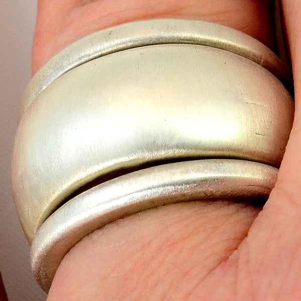 Stacking Ring Set of three sterling bands