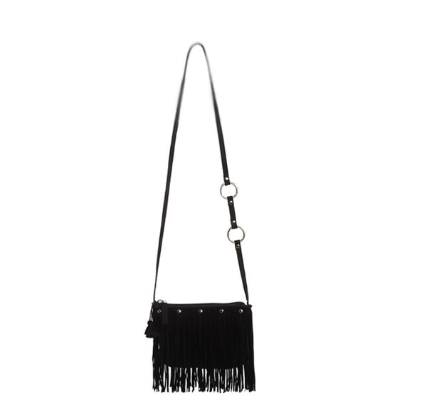 BRIGITTE ROCK FRINGE BAG .. Brigitte Rock