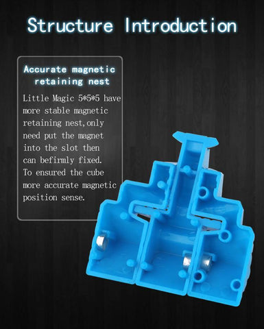 Yuxin Little Magic M 5X5X5 MAGNETIC SPEED CUBE