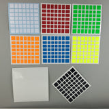 Sticker Set Moyu Cubic 7x7x7