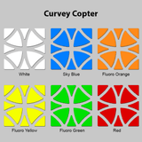 Sticker Set Curvey Copter