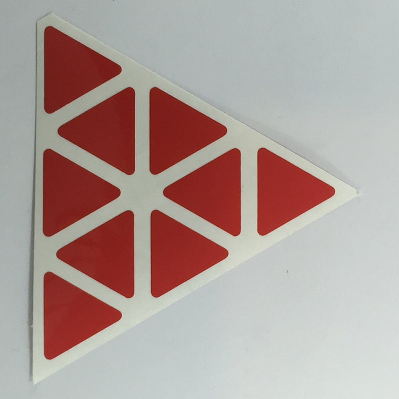 AusCubeSticker Sticker Sheet: PYRAMINX