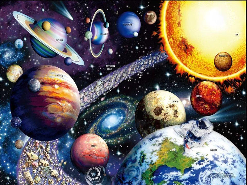 "Bei Bi La 1000 Piece Jigsaw Puzzle ""Interstellar Space"""